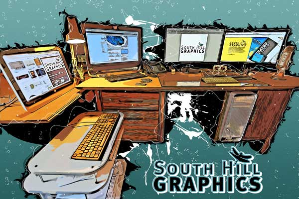 South Hill Graphics a Northern British Columbia graphic design, web design and logo design company.
